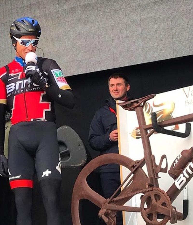 Greg van Avermaet's chocolate bike