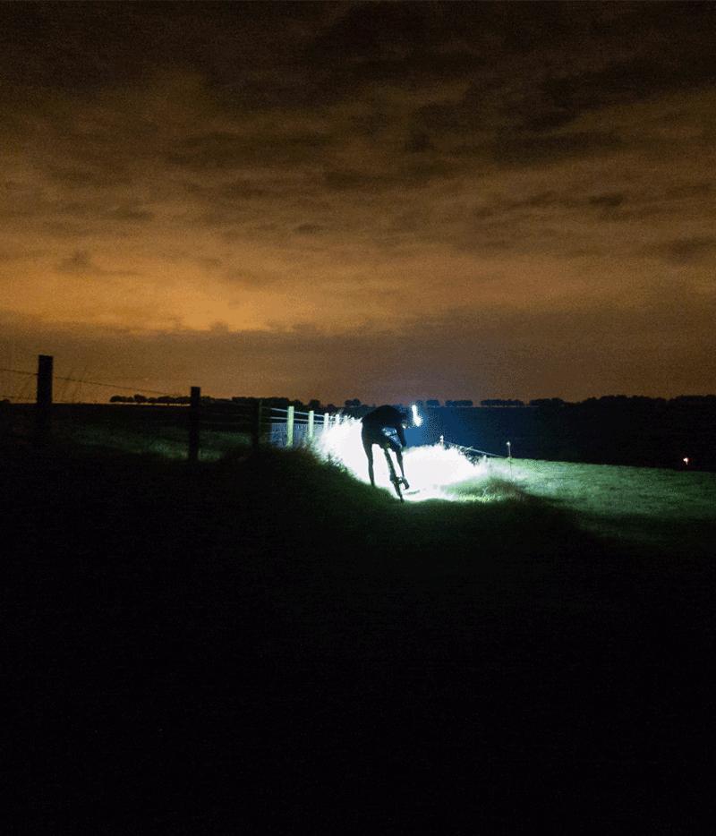 Riding through the night