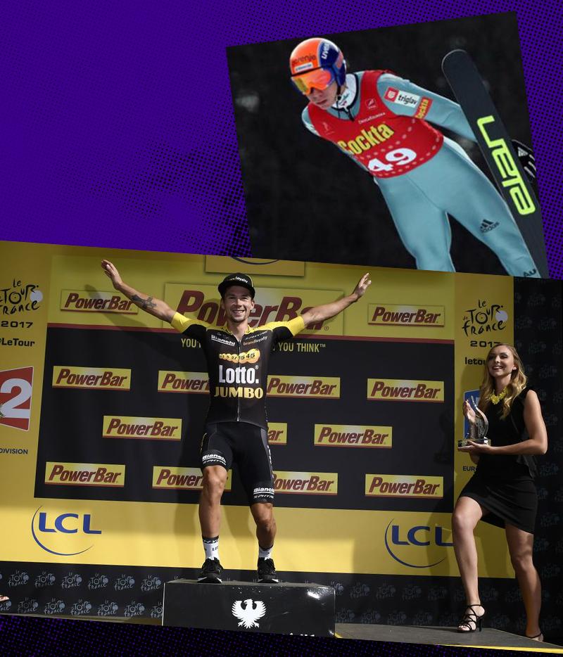 Primož Roglič from Jumper to Cyclist