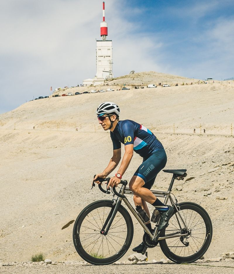 One of Jordi's shots of Ramon on Ventoux