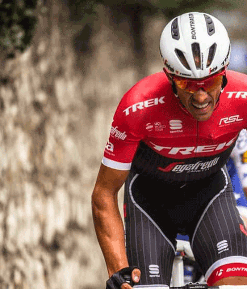 Alberto Contador says farewell